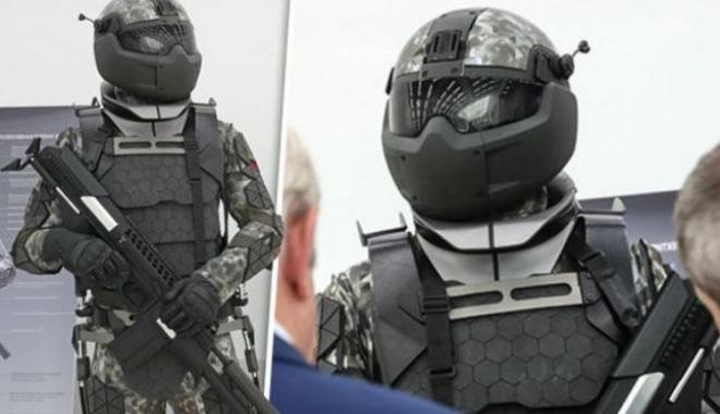 Foto: VIDEO - Viitorul costum al soldatului, desprins parcă din Star Wars