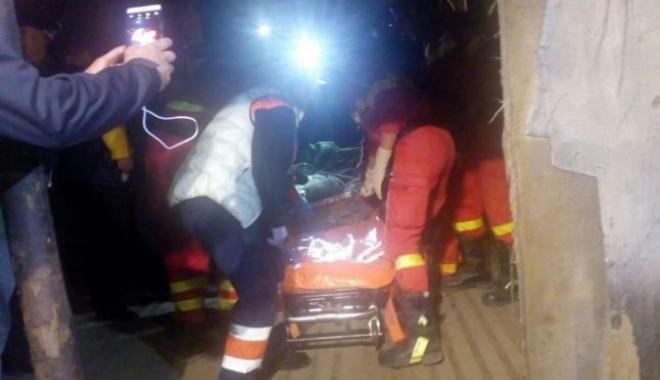 Foto: TRAGEDIA DIMINEŢII! Unul dintre minerii răniţi în explozia de la Uricani a decedat