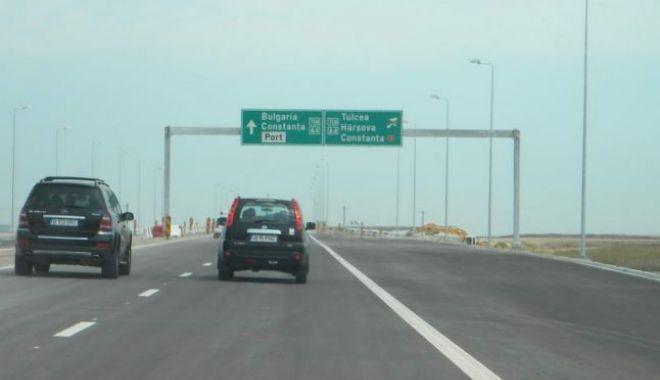 Foto: Pericol de accidente pe Autostrada Soarelui! Avertismente din partea Poliţiei