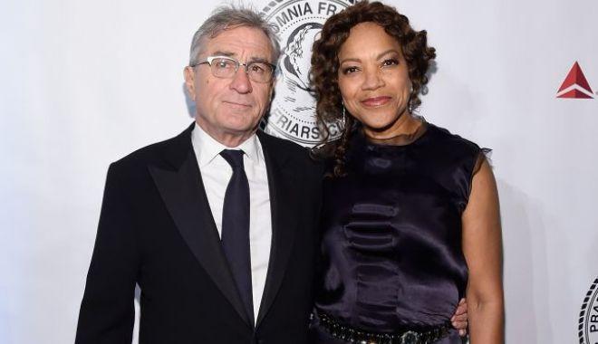 Foto: Robert De Niro divorţează după 21 de ani de căsnicie