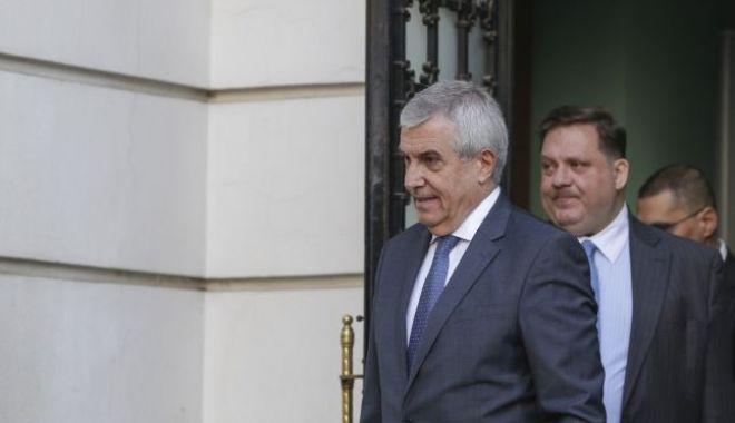 Foto: Călin Popescu Tăriceanu a fost audiat. Ce decizie a fost luată