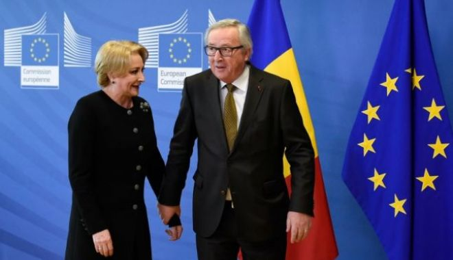 Foto: Juncker, la discuţii cu Dăncilă: Sper ca în timpul mandatului acestei Comisii, România să intre în Schengen