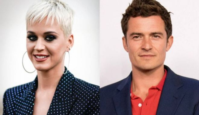 Foto: Katy Perry şi Orlando Bloom s-au logodit de Valentine's Day