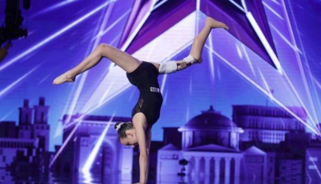 """Foto: A murit Emma Neagu, gimnasta care a impresionat la """"Românii au talent"""""""