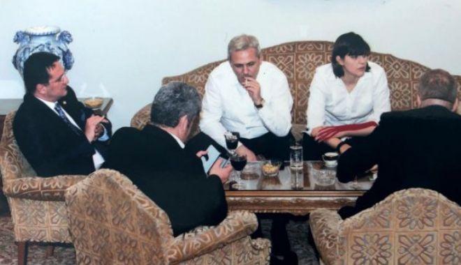 """Foto: Dragnea, despre poza cu el alături de """"statul paralel"""": cine stătea în capul mesei"""