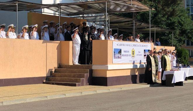 Foto: Eveniment solemn la  Academia Navală Mircea cel Bătrân