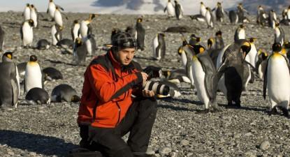Foto: Roger Mantu, fotograful constănţean care a imortalizat Antarctica