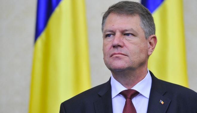 Foto: Klaus Iohannis, declaraţii de presă