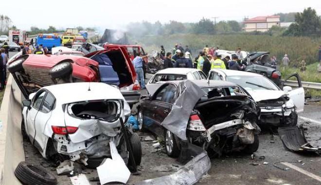 Foto: Şoferul român care a provocat accidentul din Grecia, acuzat de omor din culpă