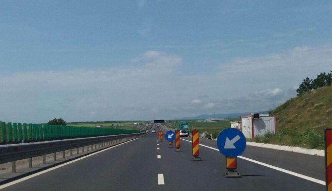 Foto: Atenţie, restricţii de circulaţie pe A4. Se lucrează la podurile şi pasajele autostrăzii