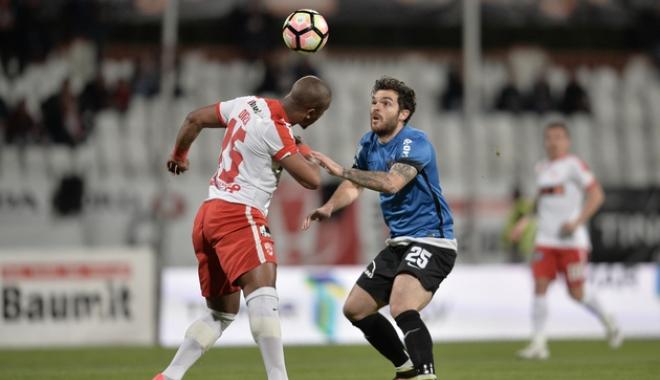 Foto: Dinamo Bucureşti- FC Viitorul 2-1, în play-off