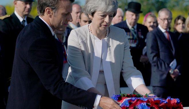 Foto: 75 de ani de la Ziua Z! A fost dezvelită prima piatră a memorialului de la Ver-sur-Mer