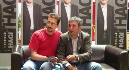 """Foto: Hagi şi-a lansat DVD-ul """"Echipele de club"""""""