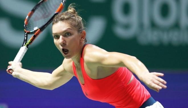 Foto: Tenis: Simona Halep a abandonat în sferturi la Washington