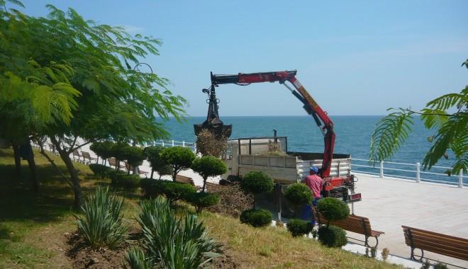 Foto: GALERIE FOTO / Ultimele pregătiri pe faleză pentru Ziua Marinei