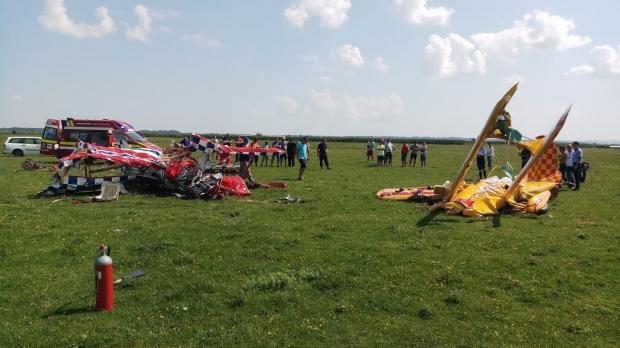 Foto: Noi detalii despre pilotul rănit în accidentul aviatic de la Suceava. Starea lui de sănătate s-a agravat