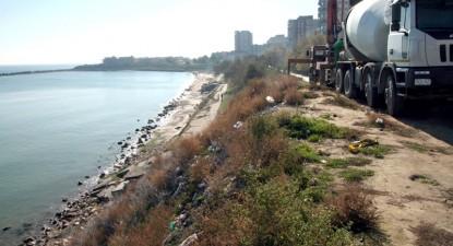 Foto: Şoseaua de coastă, himera lui Mazăre care mai înghite 12 miliarde de lei vechi