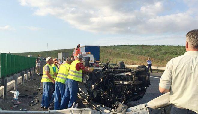 Foto: Creștere alarmantă a accidentelor, pe Autostrada Soarelui!