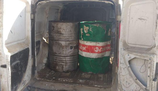 Foto: Motorină confiscată de polițiștii de frontieră din județul Constanța