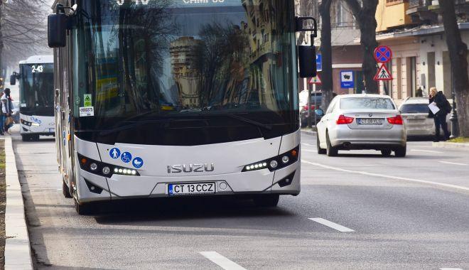 Foto: 80 de autobuze noi, pe străzile din Constanţa