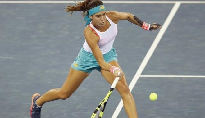 Foto: Sorana Cîrstea, în sferturi la Beijing. Românca a câștigat în fața Karolinei Pliskova