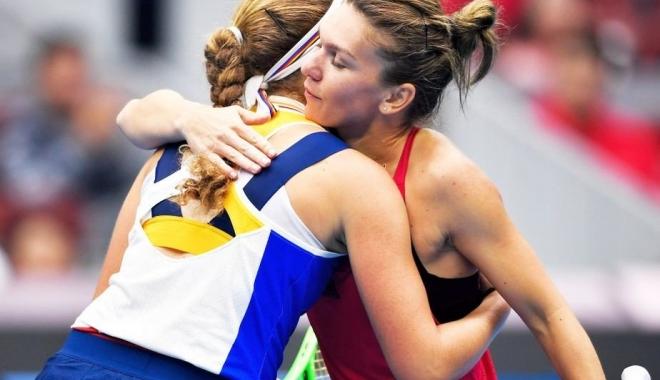 Foto: Simona Halep, declaraţie surprinzătoare după finala de la Beijing