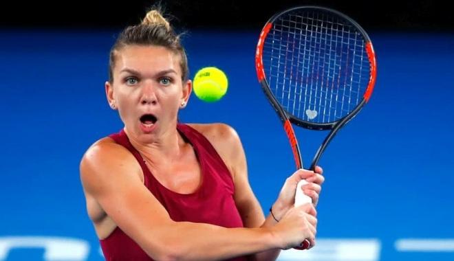 Foto: AUSTRALIAN OPEN. Simona Halep a aflat ora de disputare a meciului cu Destanee Aiava