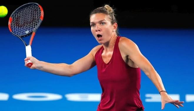 Foto: FORMIDABIL! Simona Halep este în sferturi, la Australian Open