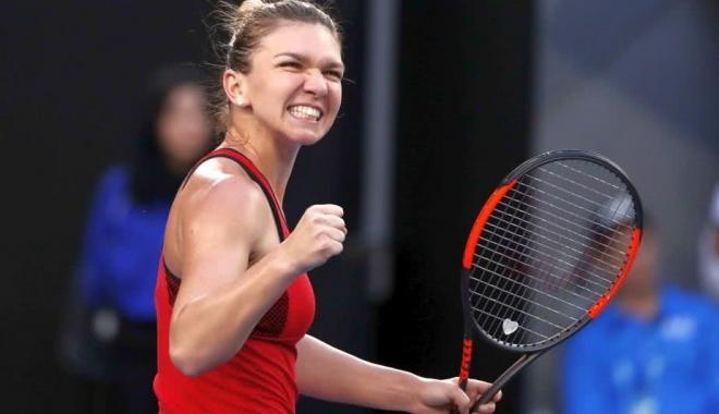 Foto: Reacția Simonei Halep după cel mai NEBUN meci de la Australian Open, care a durat aproape 4 ore de joc: Sunt aproape MOARTĂ