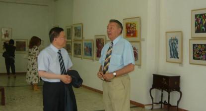 Foto: Arta ţărănească chineză, pe simezele Muzeului de Artă