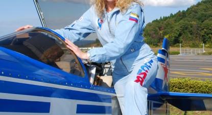 Foto: Rusoaica Svetlana Kapanina, favorită la concursul de acrobaţii
