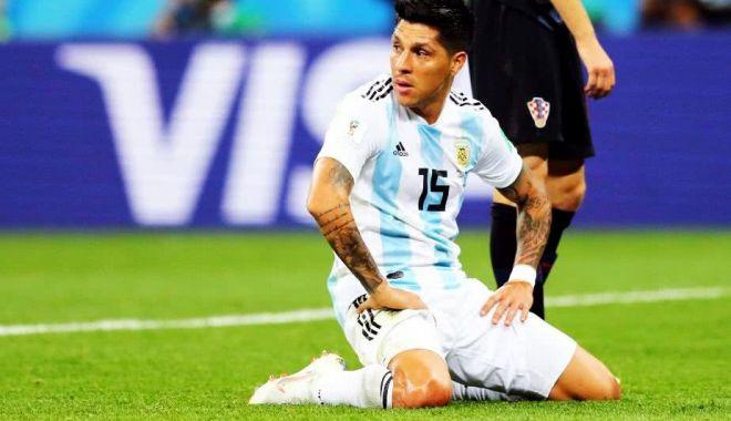 """Foto: Jucătorii Argentinei sunt la pământ după rușinea cu Croația: """"E o chestie de mentalitate"""""""