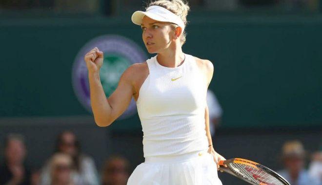 Foto: Simona Halep a pierdut dramatic meciul de la Wimbledon
