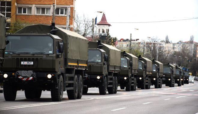 Foto: Peste 1.800 de militari au participat la acțiuni de prevenire a infectării cu COVID-19 în România