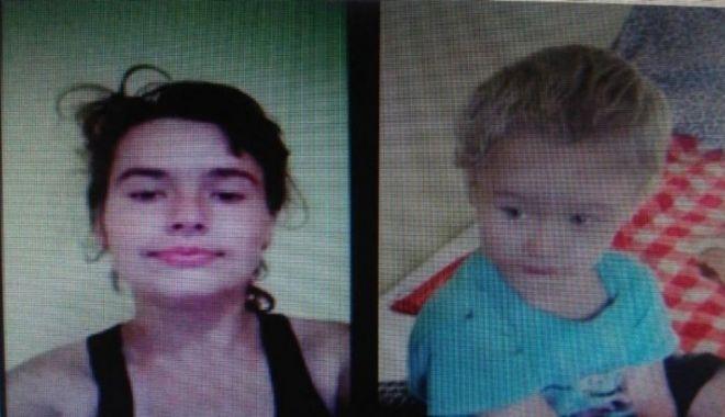 Foto: ALERTA! O mamă de 20 de ani și fiul ei de 3 ani, dați dispăruți