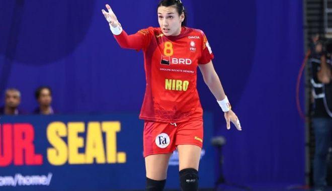 Foto: Cristina Neagu devine cea mai bună marcatoare din istoria Europeanului de handbal feminin