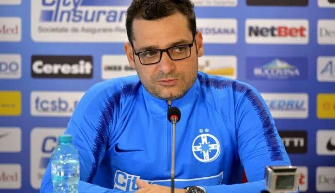 Foto: Antrenorul Mihai Teja s-a despărţit de FCSB