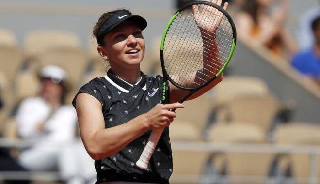 Foto: Simona Halep la Roland Garros. Organizatorii au anunţat când şi la ce oră va juca în optimi