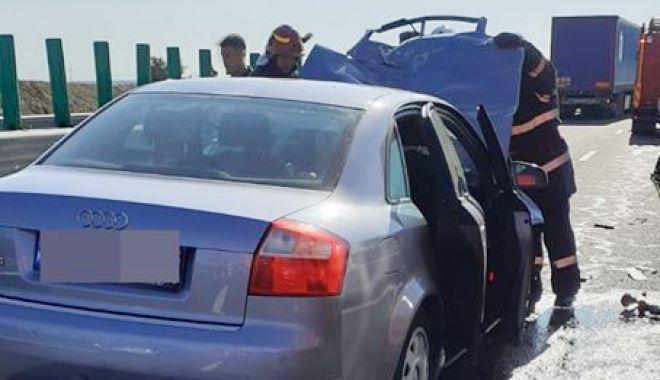 ACCIDENT GRAV, pe Autostrada Soarelui, spre litoral! 9 victime au ajuns la spital! - 9iulieaccida2sursadrdpcta3-1594275986.jpg