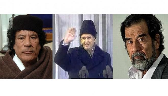 Foto: Marii dictatori ai lumii au avut parte de morţi îngrozitoare GALERIE FOTO