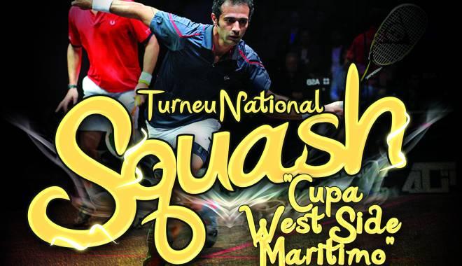 Foto: Cupa West Side, primul turneu naţional de squash, la Constanţa