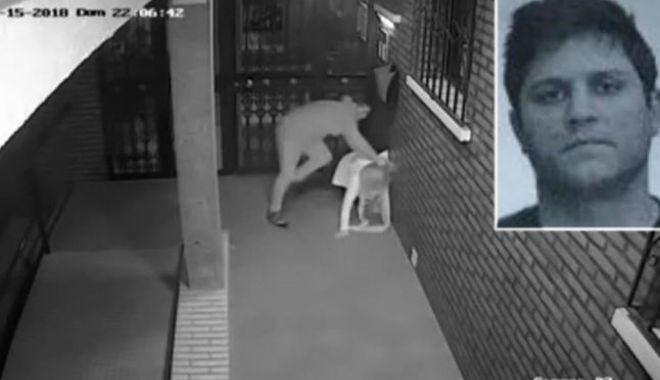 Foto: Scene de o cruzime rară în Spania: un român a bătut cu sălbăticie o bătrână pe care a jefuit-o