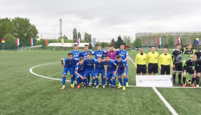 Foto: Academia Hagi,  învinsă de Sturm Graz,  la Future Talents Cup