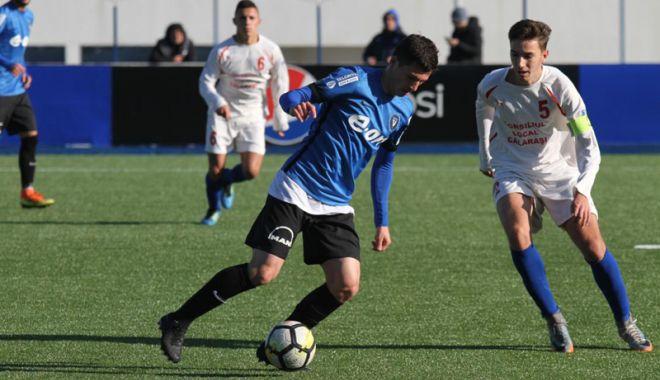Foto: FC Viitorul U19, succes la scor împotriva Farului Tuzla