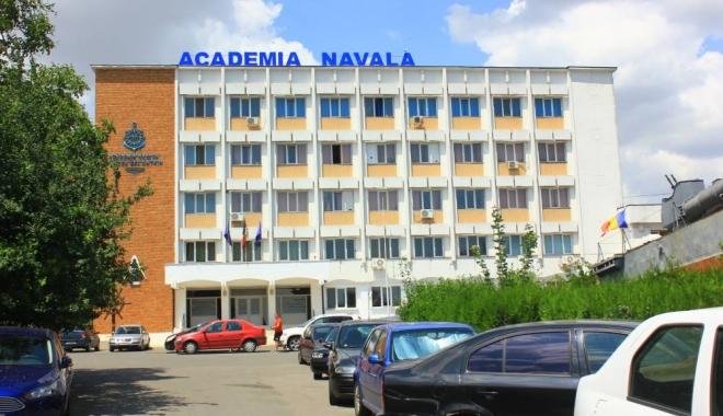 """Foto: Academia Navală """"Mircea cel Bătrân"""", la ceas aniversar"""