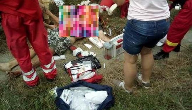 Foto: UPDATE / ACCIDENT FEROVIAR LA TUZLA! UN BĂRBAT A DECEDAT