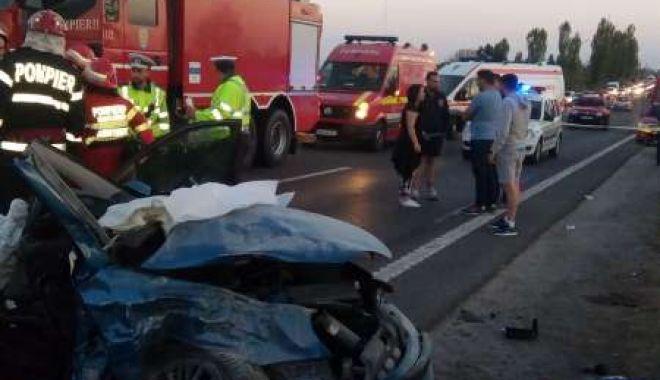 Foto: GRAV ACCIDENT RUTIER. DOUĂ PERSOANE SUNT ÎNCARCERATE