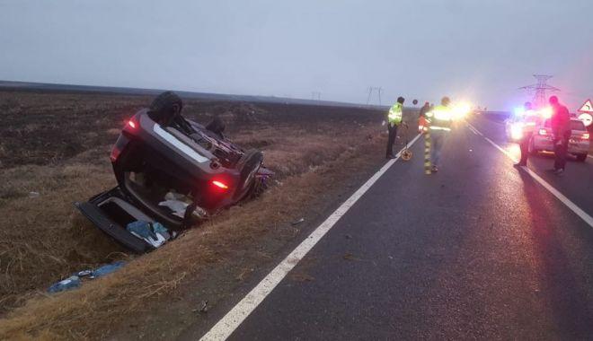 Foto: Doi tineri morţi, la Constanţa, într-un accident provocat de un şofer băut. GALERIE FOTO