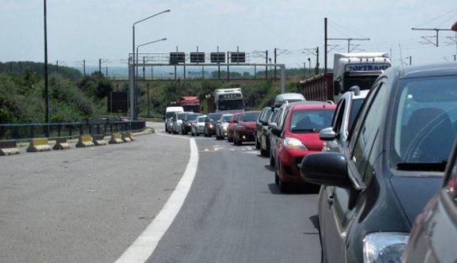 ACCIDENT GROAZNIC pe Autostrada Soarelui. Sunt implicate două autovehicule. Coadă de peste 10 km către Capitală