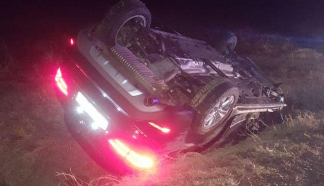 Foto: Şoferul care a provocat tragedia de azi dimineaţă, reţinut pentru 24 de ore